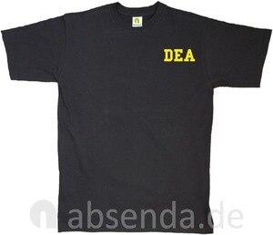 Image 1 - Dea Drug Enforcement Agancy Escobar Chapo Police T Shirt Neu 2019 New Cotton Short Sleeves Hip Hop O Neck Casual Cotton T Shirt