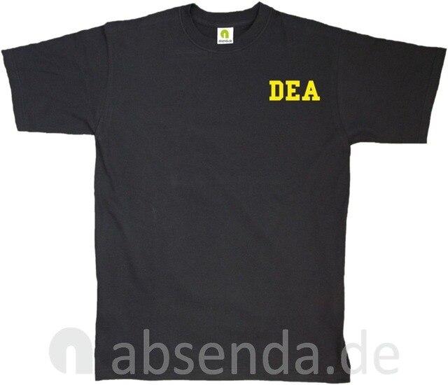 Dea Drug Enforcement Agancy Escobar Chapo Police T Shirt Neu 2019 New Cotton Short Sleeves Hip Hop O Neck Casual Cotton T Shirt