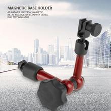 Universal Magnetic Base Holder Adjustable Magnetic Metal Base Stand for Digital Dial Test Indicator mini universal adjustable gauge stand holder magnetic base holder digital level dial test indicator