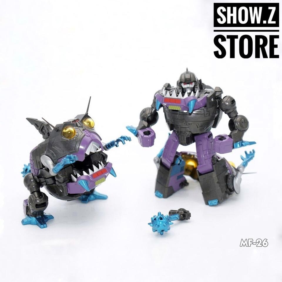 Limited Edtn Mech Fan Transformers 26E MISB//New SHARKTICONS Set 3rd Party
