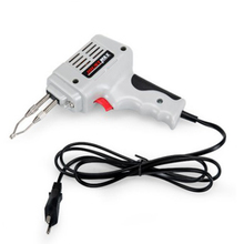 220v 240v 100w Electrical Soldering Iron Gun Hand Welding Tool With Solder