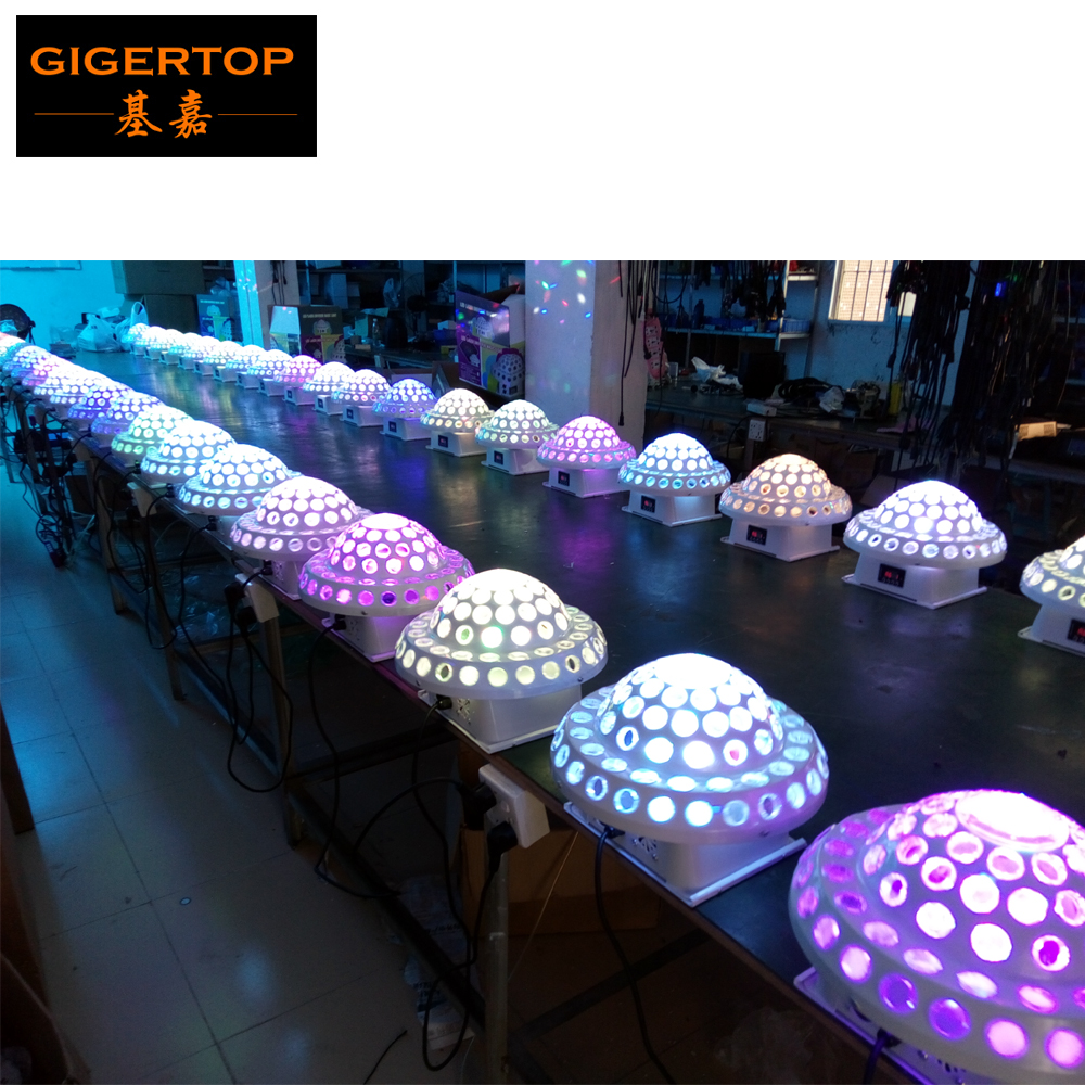 Free Shipping 10/Lot DMX512 Disco DJ Stage Lighting Digital LED RGB Crystal Magic Ball Stage Effect Light Good Quality