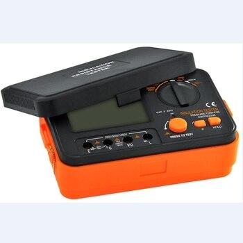 VC60B + Digitale Isolierung Widerstand Tester VICI Megger MegOhm Meter 250 V 500 V 1000 V Hohe Spannung Und Kurze Schaltung Eingang Alarm