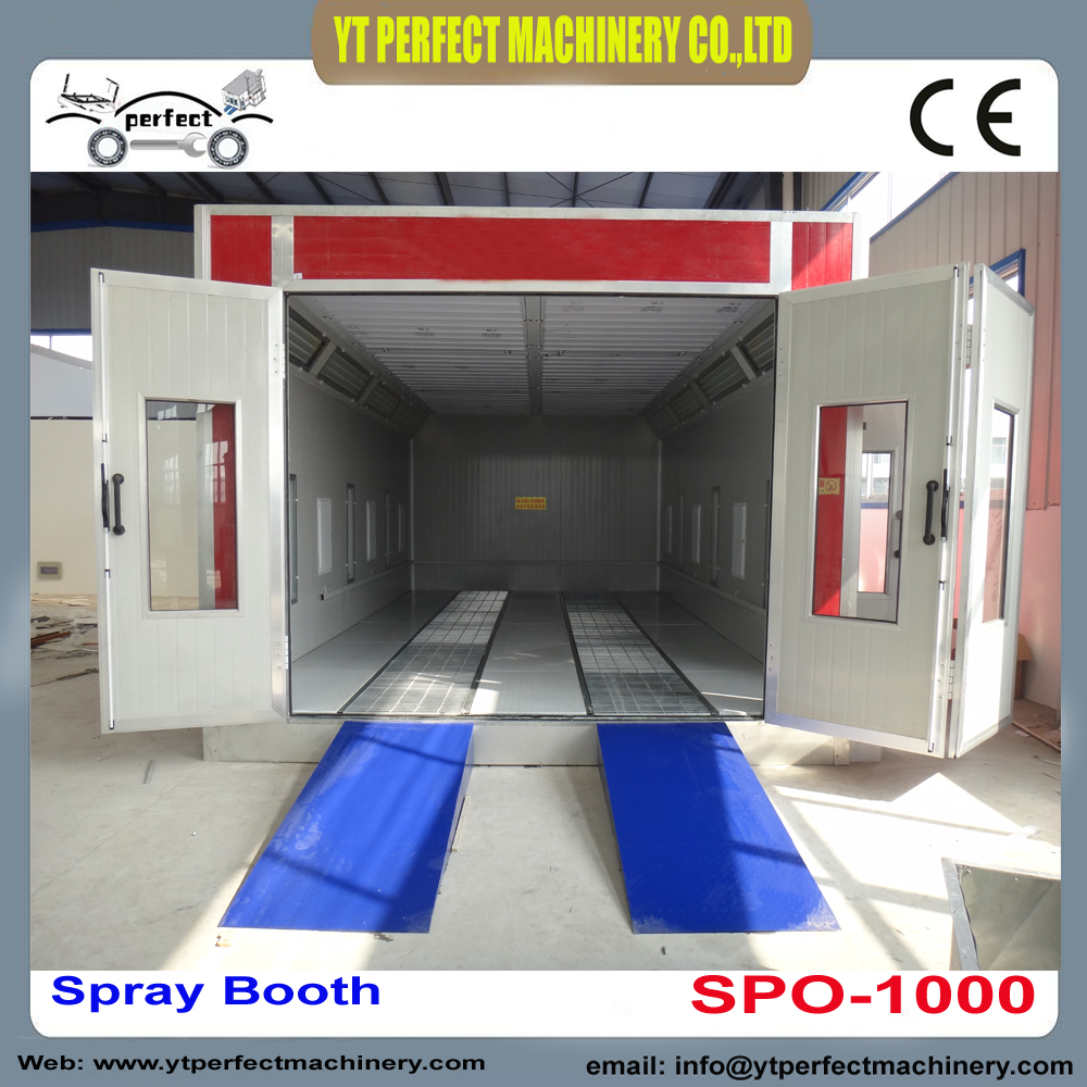 SPO 1000 car painting booth car spray booth oven spray booth-in ...