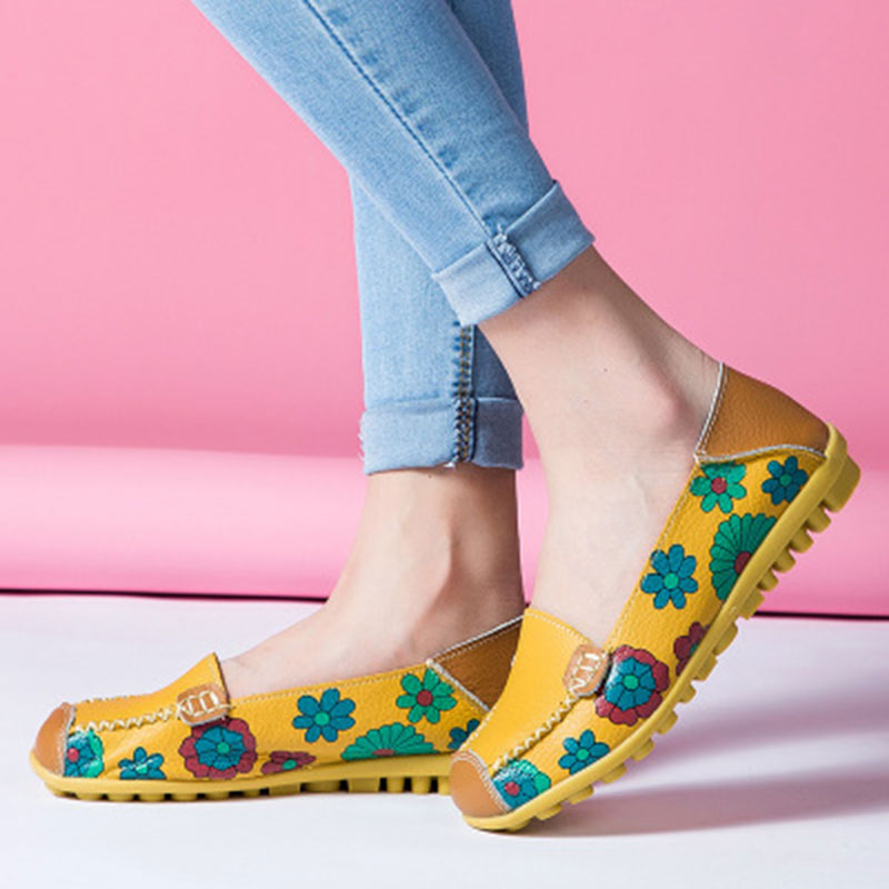 Women flat PU Leather comfortable shoes 2018 new fashion pu cut outs Outdoor boat casual flat shoes Women plus size women s shoes 2017 summer new fashion footwear women s air network flat shoes breathable comfortable casual shoes jdt103