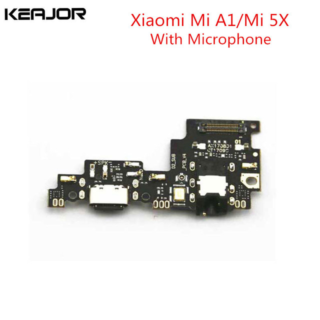 US $7 99 |For Xiaomi Mi A1/Mi 5X USB Board With Mic Assembly Repairing  Fixing Part USB Board Replacement for Xiaomi Mi5X/MiA1 Smartphone-in Mobile