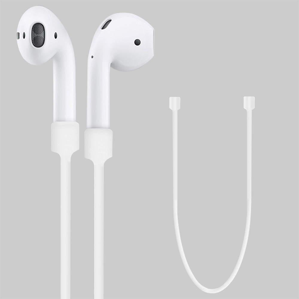 For Apple AirPods Anti-Lost Strap Silicone Earphone Cables Accessories For Apple AirPods Anti Lost Rope Headphones Storage Strap