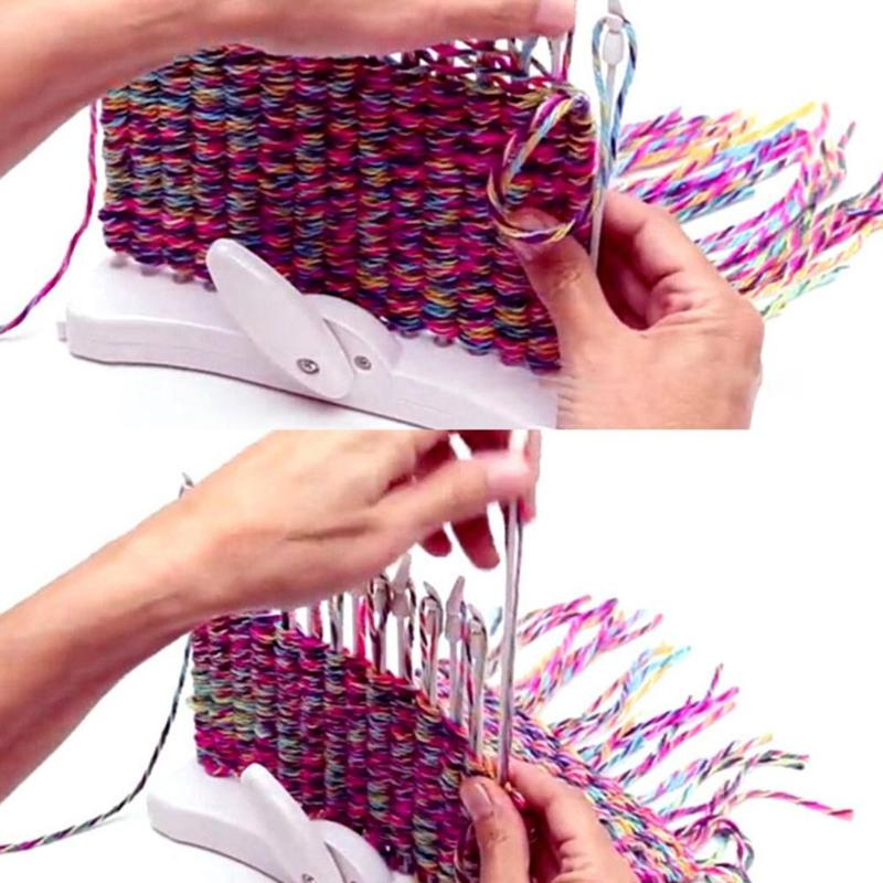 Diy Knitting Machine Handmade Scarf Knitting Loom Knit Craft Tools