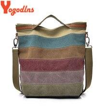 4d4909043d38 Yogodlns Повседневное Для женщин Холст сумка простота Женский Сумочка  мягкая Средний Размеры Сумка для подростков