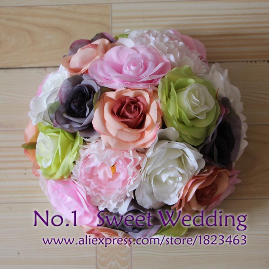 New Table Centerpiece Decorative Wreath Wedding Road Lead Artificial