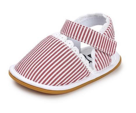 Heißer Verkauf neuer Streifen Bowtie netter Babymokassinkind Sommer - Babyschuhe - Foto 2