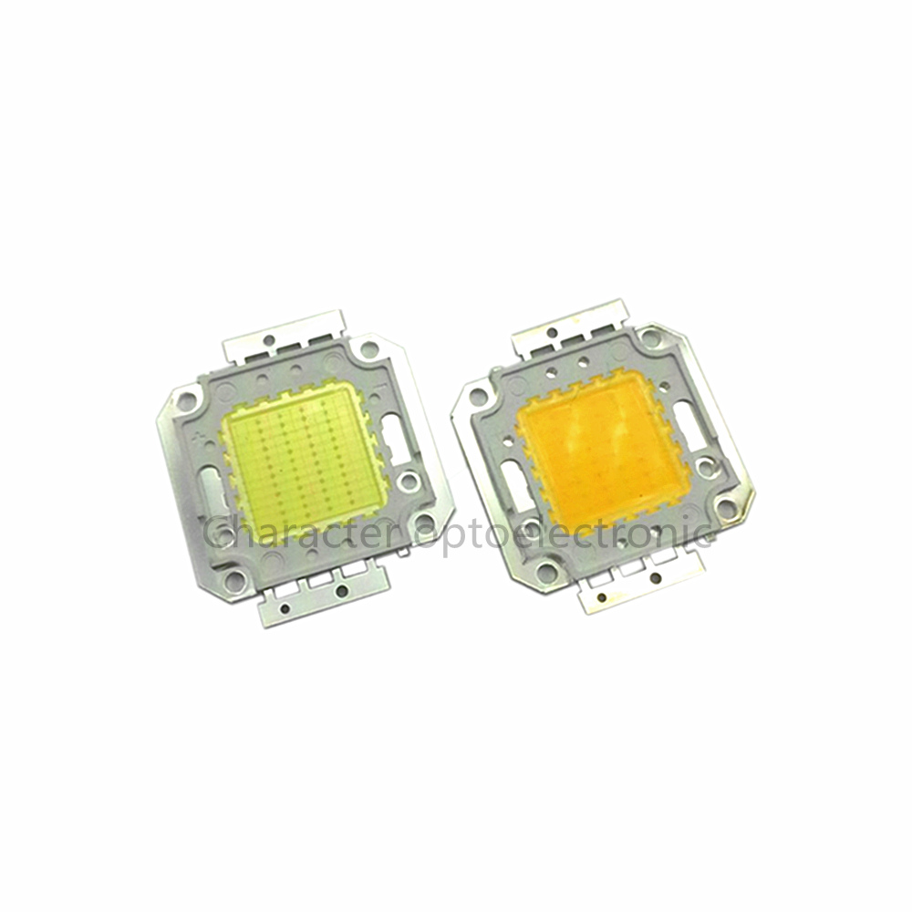 High Power Epistar Cob Led Integrated Chip 12V - 15V 10W 20W 30W 50W SMD White Chips for Floodlight Lawn lights Spotlight