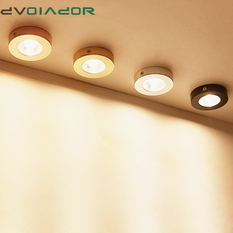 Ultra thin 3Color Surface Mount LED Ceiling Down Light 5W 7W 10W 15W for Living Room Bedroom Kitchen AC 220V Spot light lamp