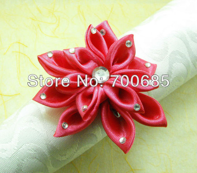 Qn13053009 silk flower napkin rings napkin holder in napkin rings qn13053009 silk flower napkin rings napkin holder mightylinksfo
