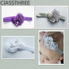Fancy Kids Headband European Style Korean Mesh Elastic Children s Hairband Baby Colorful Flower Cute Hair