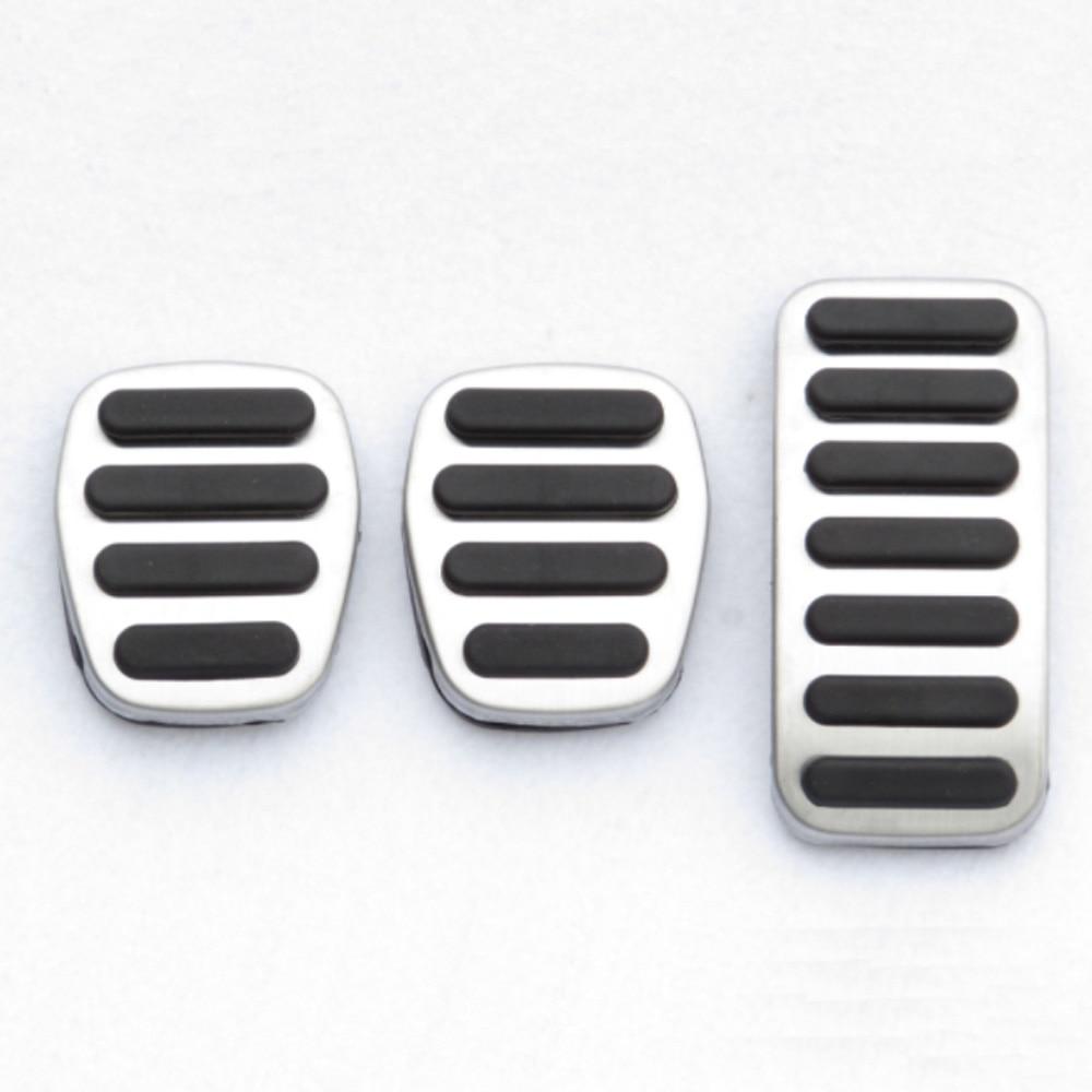 Aço inoxidável o pedal do acelerador pedal de freio acessórios do carro automóvel para volvo v40 xc40 s40 2013 2014 2015 2016 2017 2018 2019
