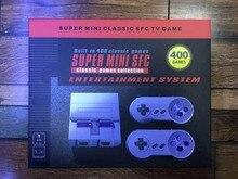 Супер Мини ТВ игровой консоли Ретро Семья классический Портативный игры игроки AV-USB Интерфейс двойной геймпад управления 400 В 1 игры
