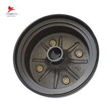 rear whee rim  drum  brake  cover 27 tooth sharp teeth for LONCIN 250CC ATV/LX250 QUAD/Gas K2 250 PARTS CODE SSA0-009301-0