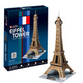 World famous building model 3D Dimensional Puzzle Toys Paris Eiffel Tower Model For children Educational toys gift toys