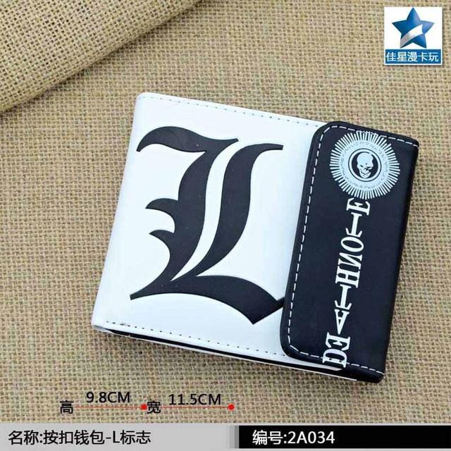 Death Note Printing Wallet