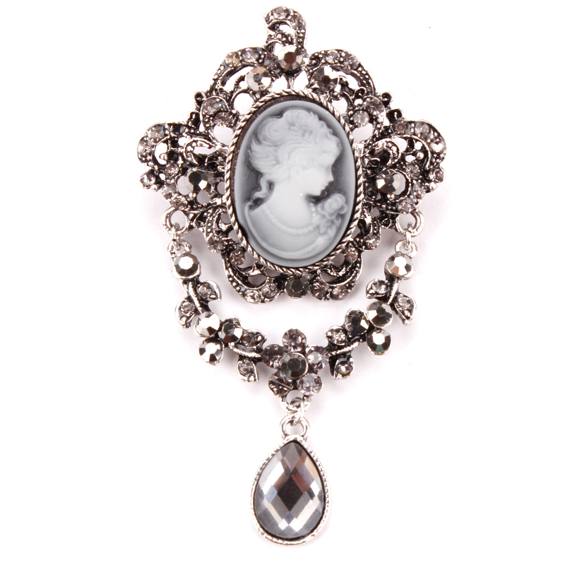 """3.5/"""" Pavo Real Broche Pin con diamantes de imitación de cristal de la CZ /& Púrpura Diamante"""