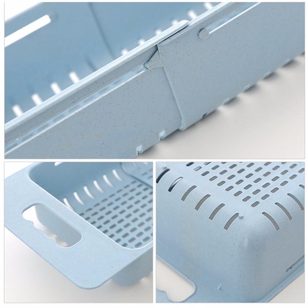 Multifunctional Sink Draining Rack Retractable Storage Box ...