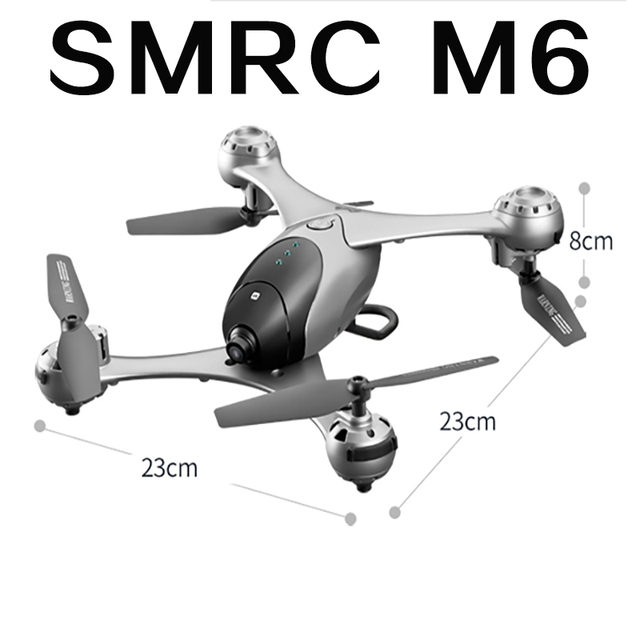 SMRC M6 RC Quadcopter Drone Spare parts propellers blades set protection ring remote controller accessories follow me Drones