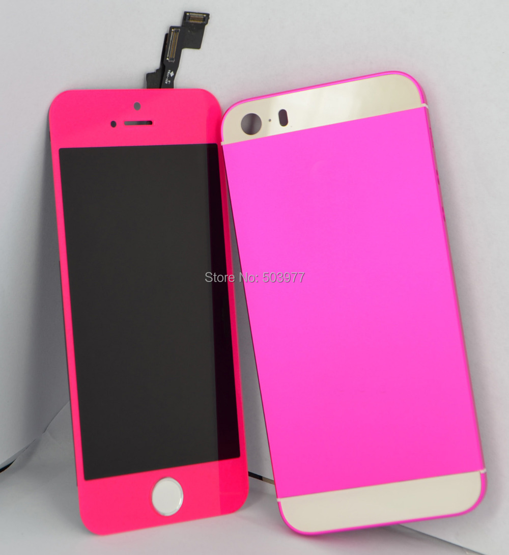 Top Quality AAA 1unit/lot LCD Front +back housing for iPhone 5s, for ...