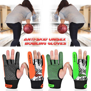 Bowling-Gloves Thumb-Protectors for Sports Anti-Skid 1-Pair Breathable Women