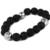 Amor famosa marca braceletes e pulseiras moda Pulseras Natural pedra pulseira para mulheres homens jóias nomeação