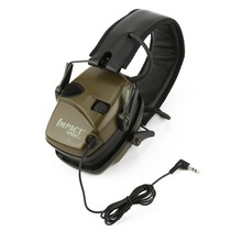 Outdoor Sports Anti-noise Impact Sound Amplification Electronic Shooting Earmuff Tactical Hunting Hearing Protective Headset