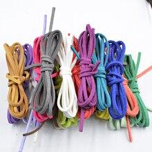 Новинка, 27 цветов, 2,6x1,5 мм, 5 метров, плоская искусственная замша, корейский бархат, кожаный шнур, материалы, сделай сам, для изготовления ювелирных изделий, браслет и ожерелье