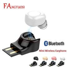 FANGTUOSI Neue kommen USB Ladung Mini Wireless Bluetooth Kopfhörer Mit Mic Drahtlose Ohrhörer Kopfhörer für iPhone Samsung Xiaomi