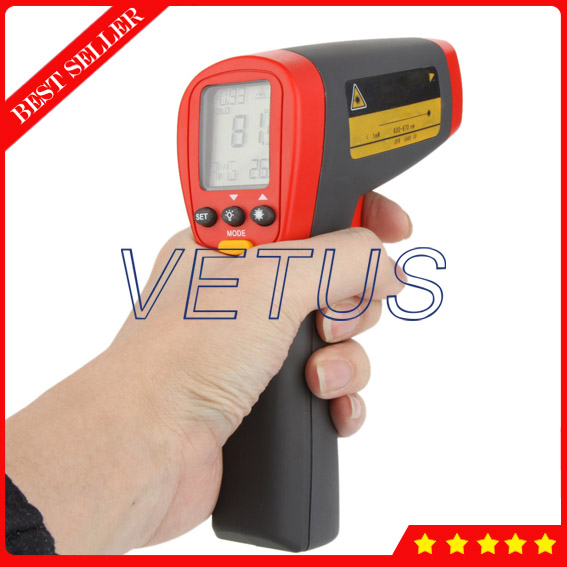 ФОТО UT302D LCD display Non Contact infrared Thermometer