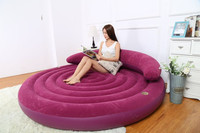 Новый стиль Высокого класса стекаются диван спинки досуга Надувной диван кровать Бесплатная Доставка