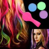 T2N2 New Arrival Hot Fashion 4Pcs Hair Chalk Temporary Soft Pastel Colour Kit Dye Hair Powdery