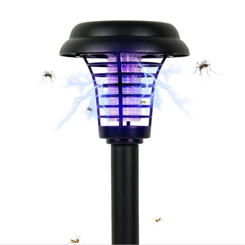 Neue Moskito Mörder Lampe Solar Powered Freien Garten Led Licht