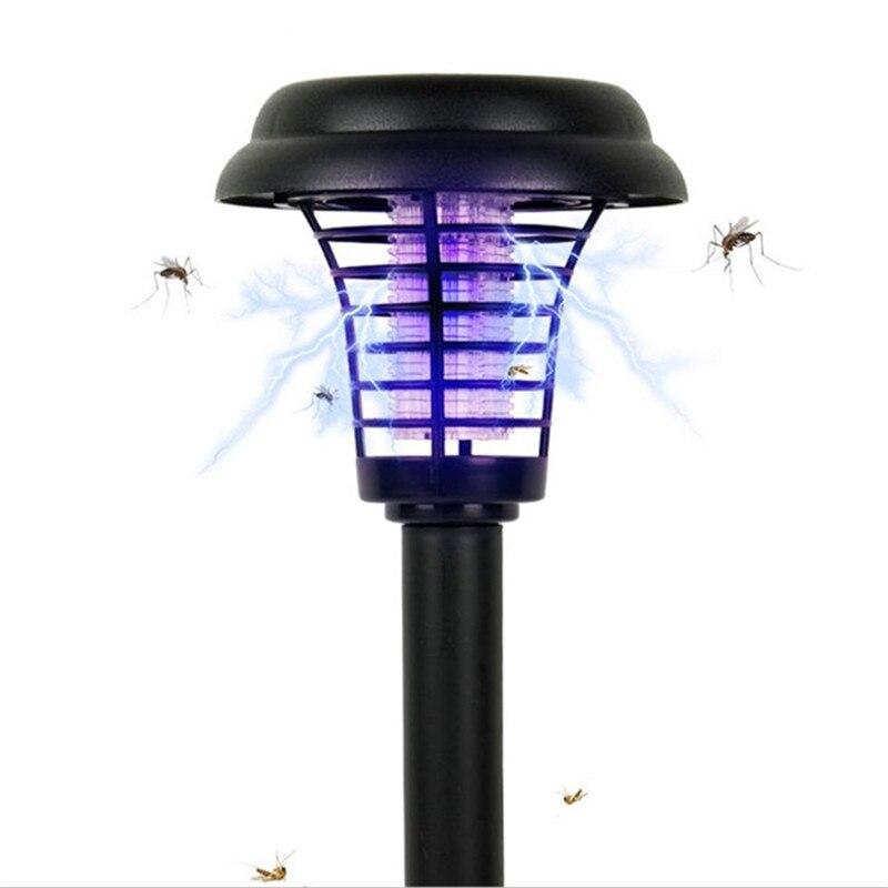 NEW Mosquito Killer Lamp Solar Powered Outdoor Garden LED