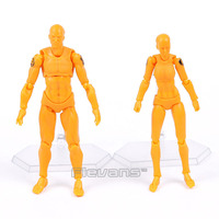 MAX FACTORY Figma Archetype next he she GSC 15th Anniversary Orange Color ver. PVC Action Figure Collectible Model Toy