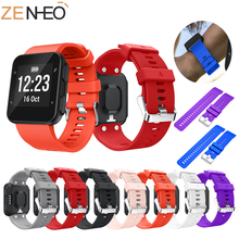 Soft Silicone Replacement Sport Band for Garmin Forerunner 35 Smart Watch Wrist Bracelet Strap for Garmin Forerunner 35 Watch garmin forerunner 920xt sport cycling running watch computer with hrm run