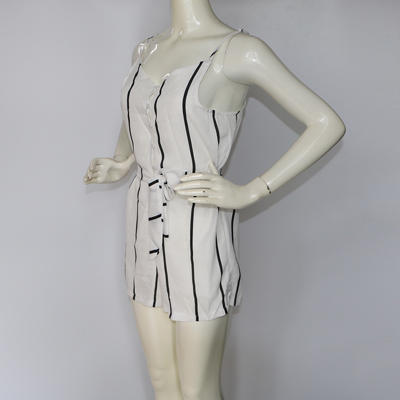 HTB18tUYQFXXXXauXXXXq6xXFXXXz - Sexy Black and White Striped Playsuit Summer PTC 147
