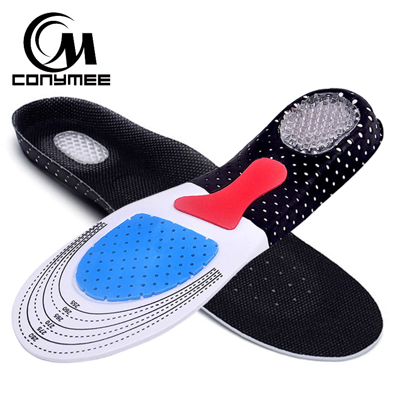 Orthopedic Insoles Unisex Arch Support Shoe Pad Inserts Foot Care Silicone Gel Insole Sneakers Pads Cushion For Men Women