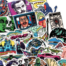 60pcs/set European And American Graffiti Classic Fashion Stickers For Laptop Luggage Styling Bike Doodle Decal Graffiti Decor F5(China)