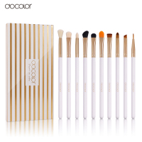 10Pcs Professional Cosmetic Makeup Brush Women Foundation Eyeshadow Eyeliner Lip Brand Make Up Eye Brushes Set