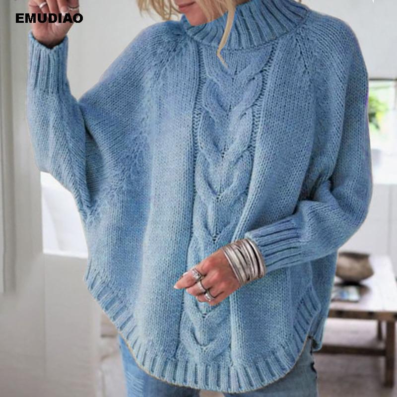 Turtleneck  Loose Pullover  3