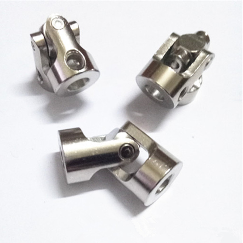4PCS Universal Joint Connector for DIY RC <font><b>Toy</b></font> 4mm to 4mm 1.5mm Side Thread Dia. image