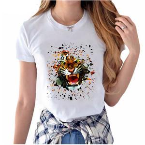 1c90bc3ac AMEITTE 2018 summer women's print T-Shirt shirt Tops Tees