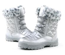 Бесплатная доставка 1 пара девочка детские сапоги Снегоступы зима теплая Снегоступы модные Детские ботинки