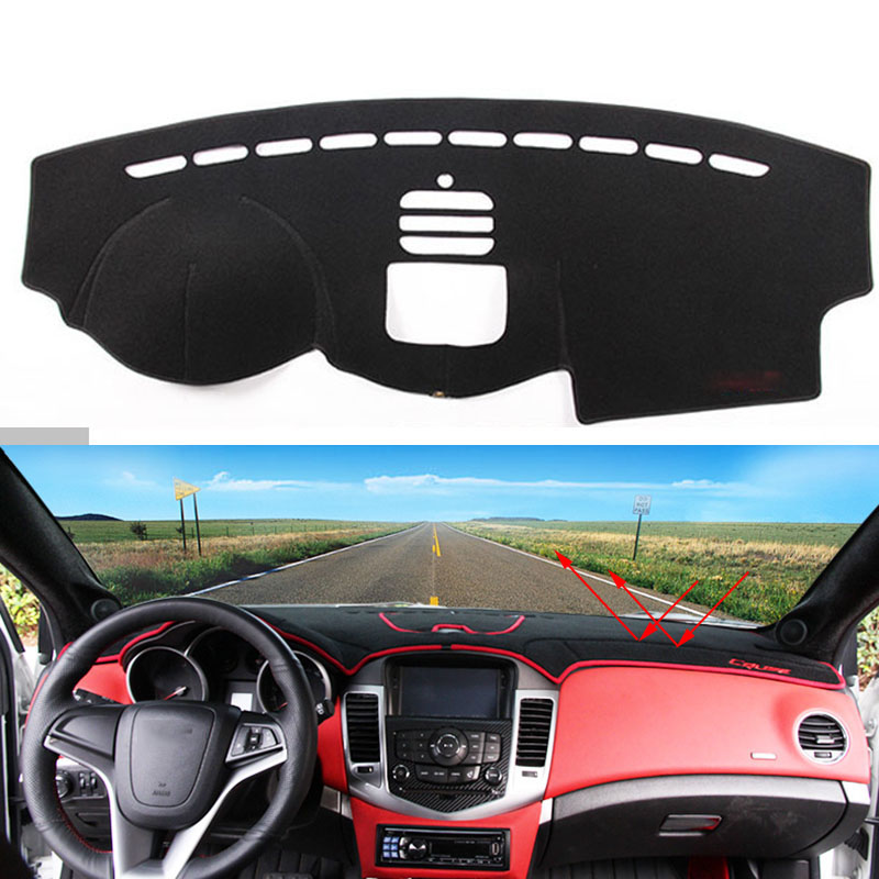 Car dashboard Avoid light pad Instrument platform desk cover Mats Carpets Auto accessories for Chevrolet Captiva dashboard cover