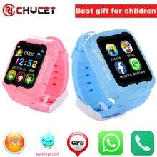 Kids bluetooth K3 smart watch children GPS LBS AGPS watch support SIM TF card Voice intercom